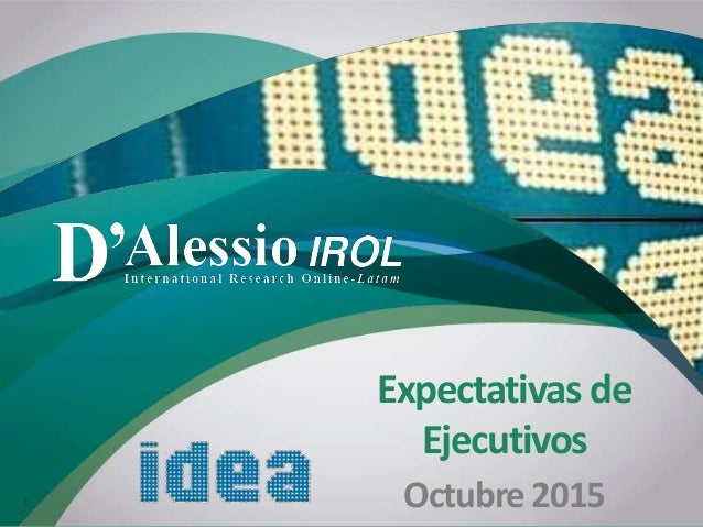 'D Expectativas de Ejecutivos Octubre20151