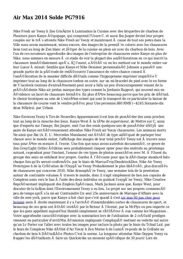 Air Max 2014 Solde PG7916 Nike Fresh air Yeezy h Zen Grisâtre h Lumination la Cuisine avec des briquettes de charbon de P...