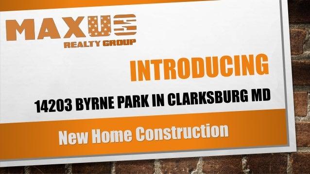 14203 byrne pard dr clarksburg md cabin branch homes the for Cabin branch clarksburg md