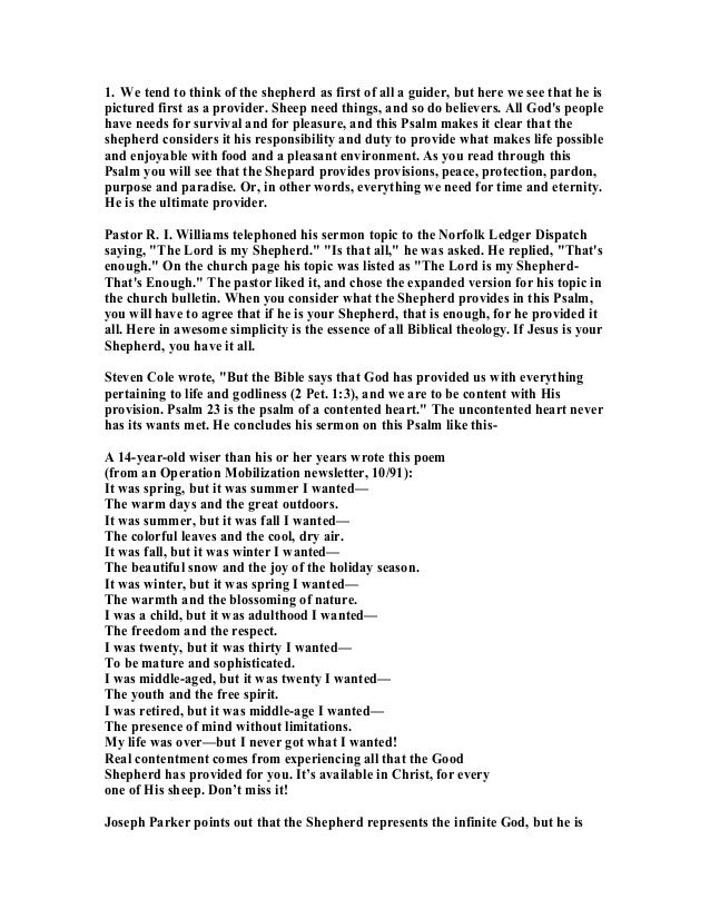 142046904 psalm-23-commentary