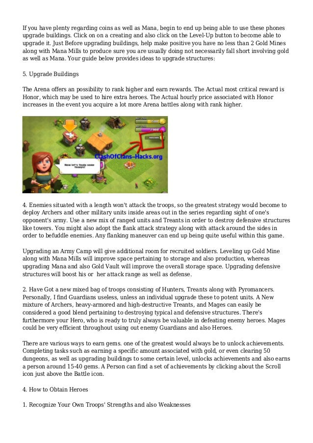 Castle Clash Tips and Strategy Guide