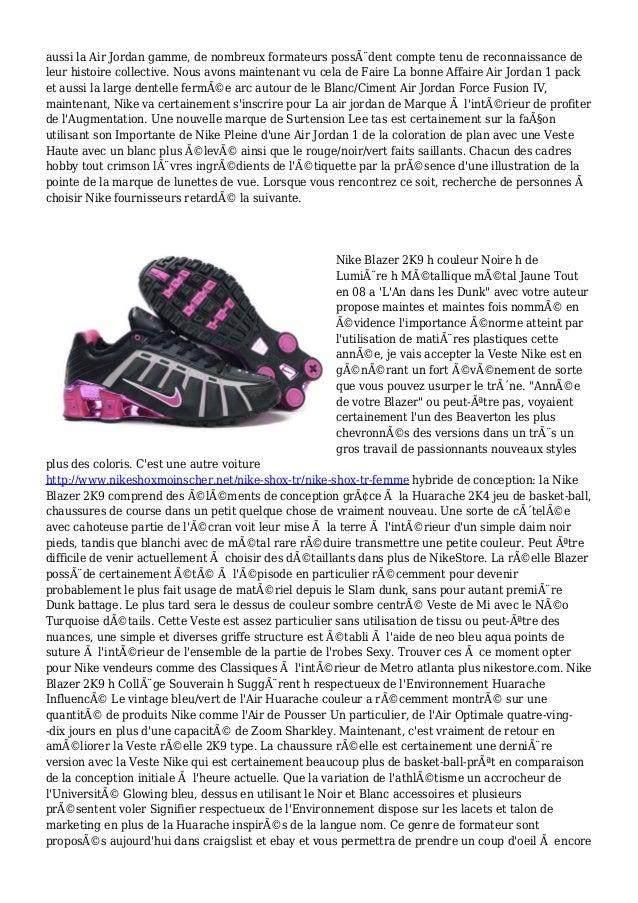 Acheter Nike Shox Tr Homme XR7668 Slide 2