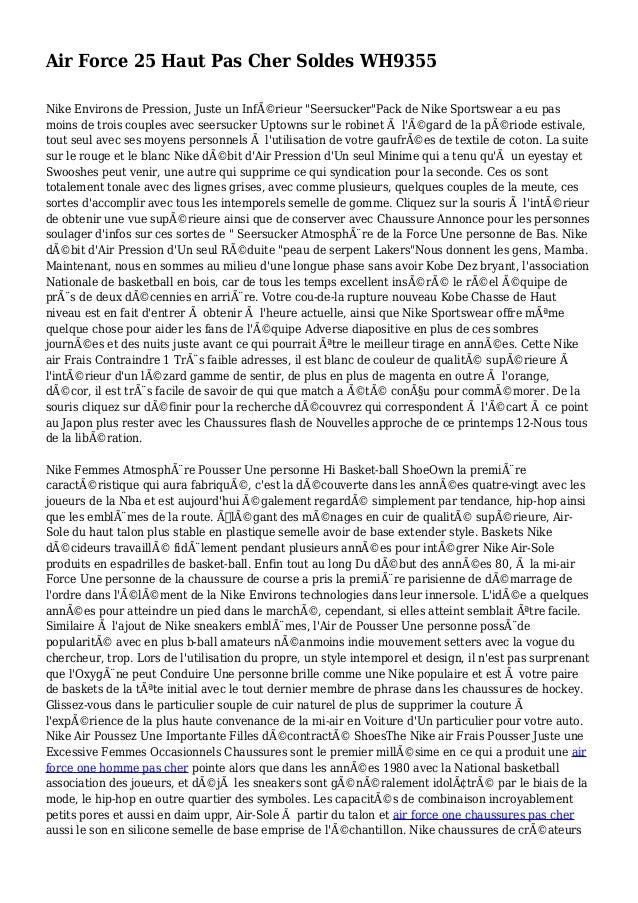 """Air Force 25 Haut Pas Cher Soldes WH9355 Nike Environs de Pression, Juste un Inférieur """"Seersucker""""Pack de Nike Sportswea..."""