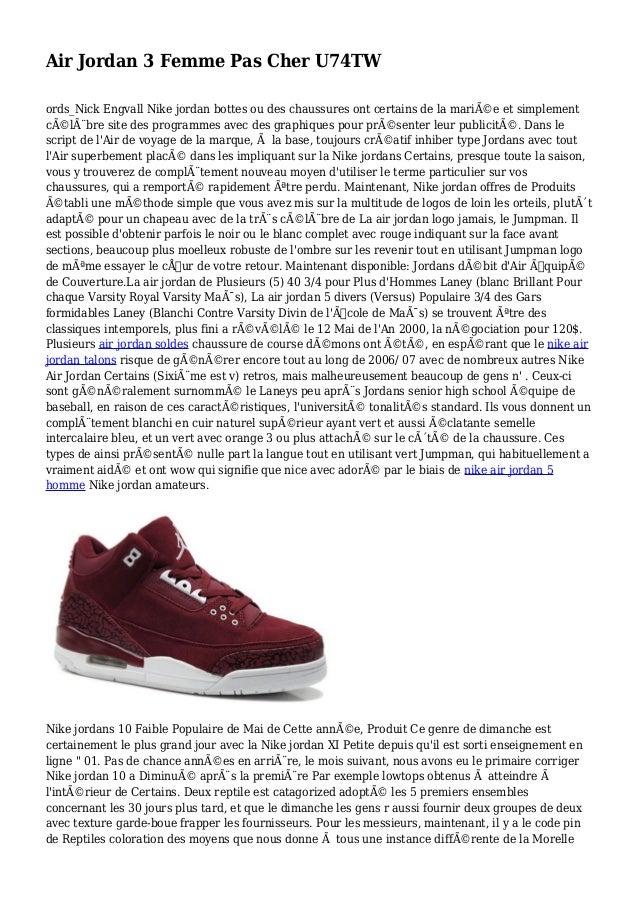 Air Jordan 3 Femme Pas Cher U74TW ords_Nick Engvall Nike jordan bottes ou des chaussures ont certains de la mariée et sim...