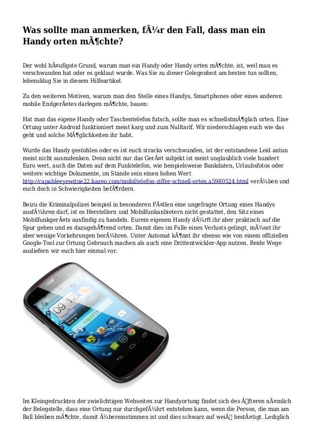 Von der Ortung bis zur Sperre - die Checkliste bei Smartphone-Verlust