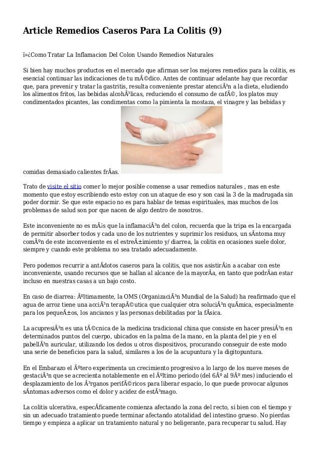 Article Remedios Caseros Para La Colitis 9