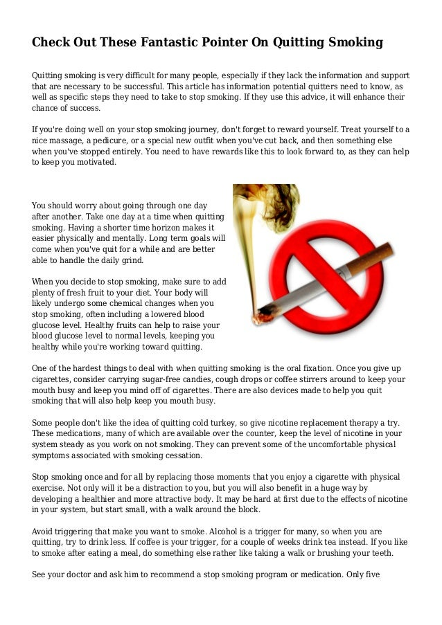 the difficulty in quitting smoking essay Smoking has become very common and fashionable, especially among young boys this habit usually begins at school when boys try to experiment with every new thing that they can lay their hands on.