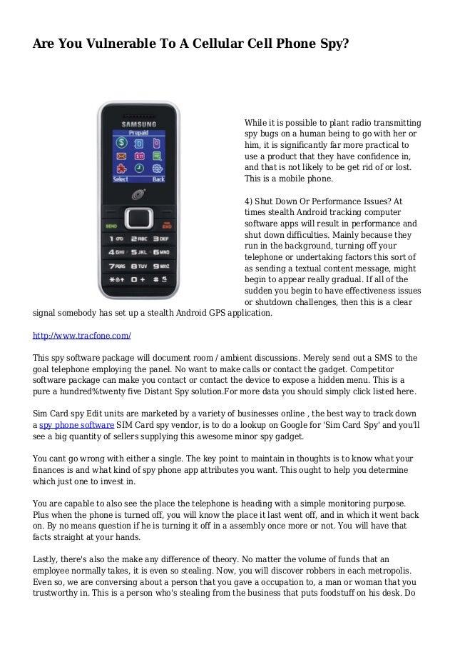 cell phone monitoring radio