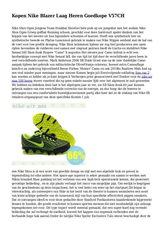 another chance c36f9 b8784 Kopen Nike Blazer Laag Heren Goedkope V57CH Nike Shox Ogen Jongens Team  Honkbal ShoeGet hele piek ...