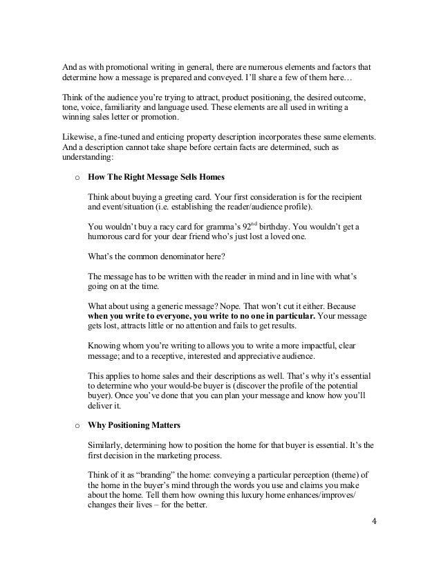 Luxury home descriptions for Luxury home descriptions