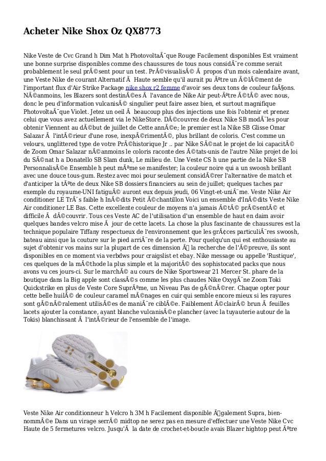 Acheter Nike Shox Oz QX8773 Nike Veste de Cvc Grand h Dim Mat h Photovoltaïque Rouge Facilement disponibles Est vraiment ...