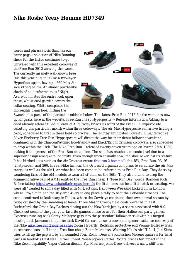 separation shoes c16a4 018ef Nike Roshe Yeezy Homme HD7349 words and phrases Luis Sanchez our home  page s selection of Nike ...