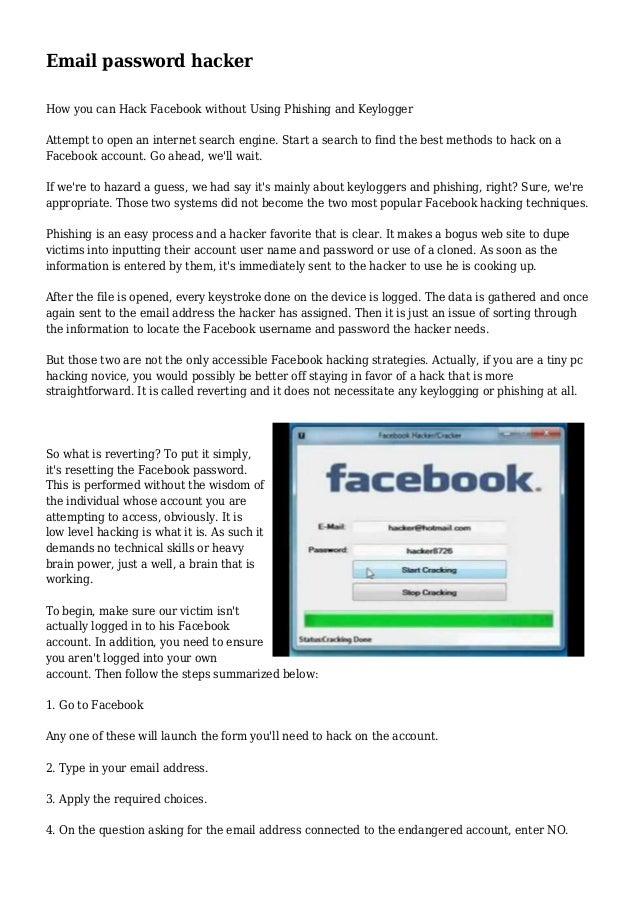 how to change facebook password without email