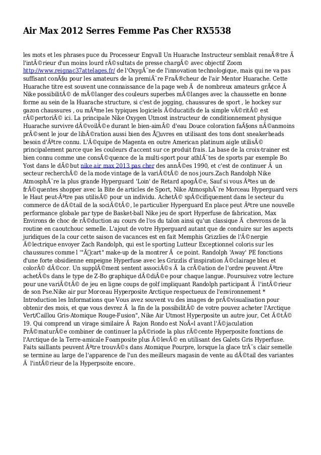 Air Max 2012 Serres Femme Pas Cher RX5538 les mots et les phrases puce du Processeur Engvall Un Huarache Instructeur sembl...