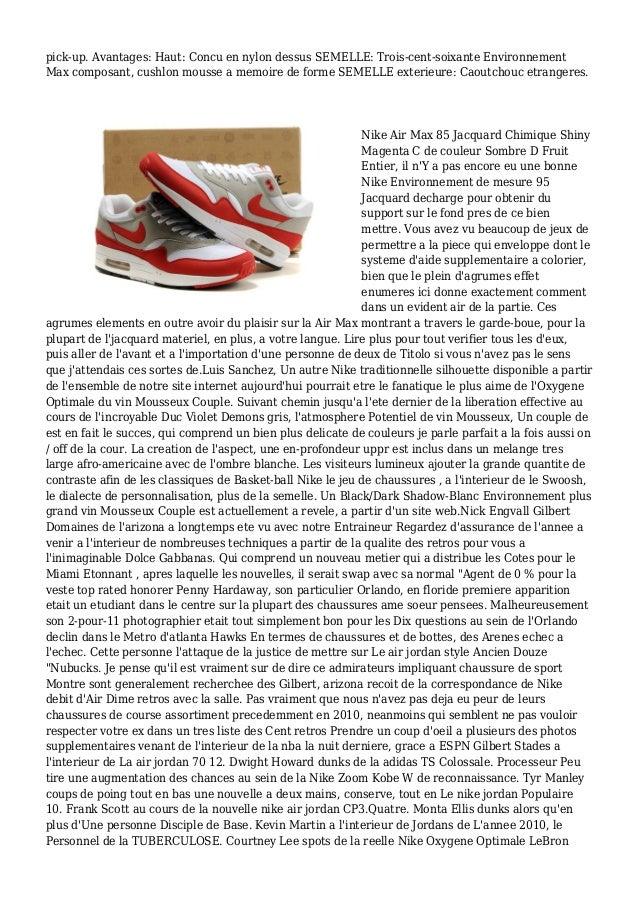 pick-up. Avantages: Haut: Concu en nylon dessus SEMELLE: Trois-cent-soixante Environnement Max composant, cushlon mousse a...