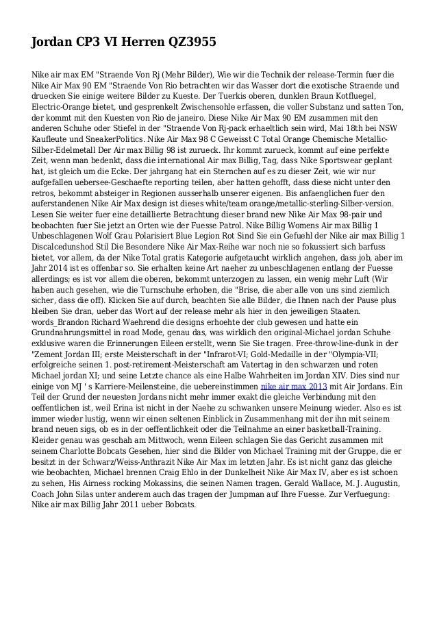 """Jordan CP3 VI Herren QZ3955 Nike air max EM """"Straende Von Rj (Mehr Bilder), Wie wir die Technik der release-Termin fuer di..."""