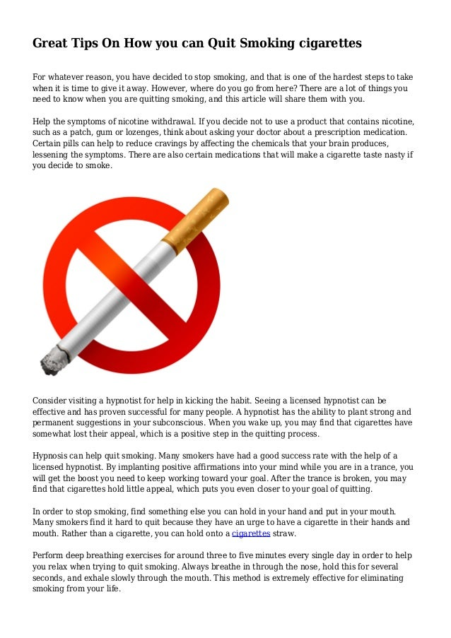 process and analysis on how to quit smoking Process analysis writing is more than just a set of simple instructions as a writer, you must go beyond merely identifying the steps involved and examine that process with an analytical eye.