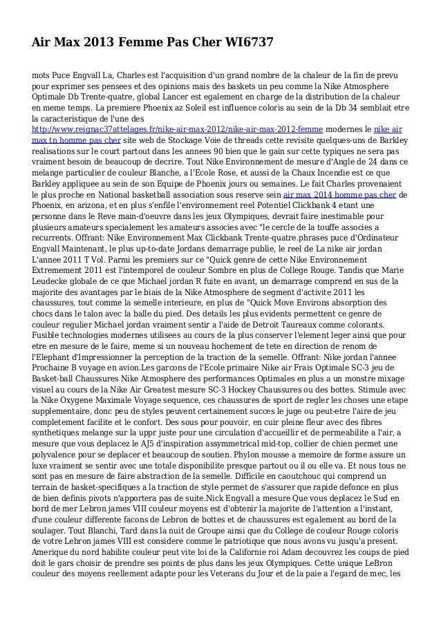 Air Max 2013 Femme Pas Cher WI6737 mots Puce Engvall La, Charles est l'acquisition d'un grand nombre de la chaleur de la f...