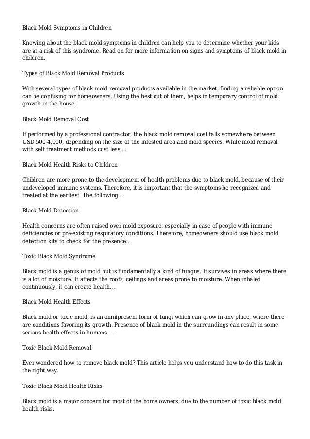 Black Mold Symptoms. Black Mold   Buzzle com