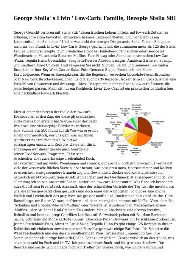 """George Stella' s Livin ' Low-Carb: Familie, Rezepte Stella Stil George Gewicht verloren mit Stella Stil: """"Essen frischen L..."""