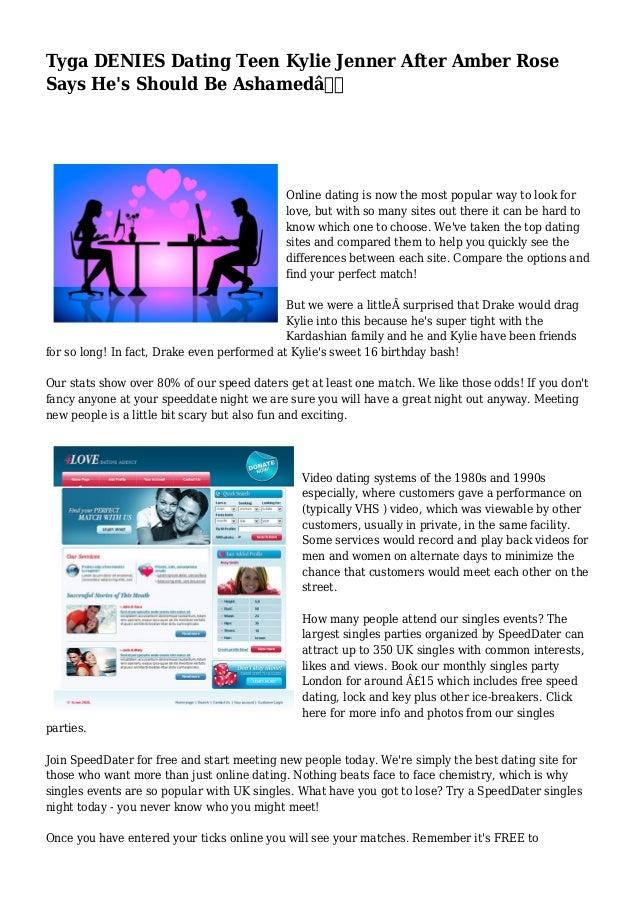 dating website industry