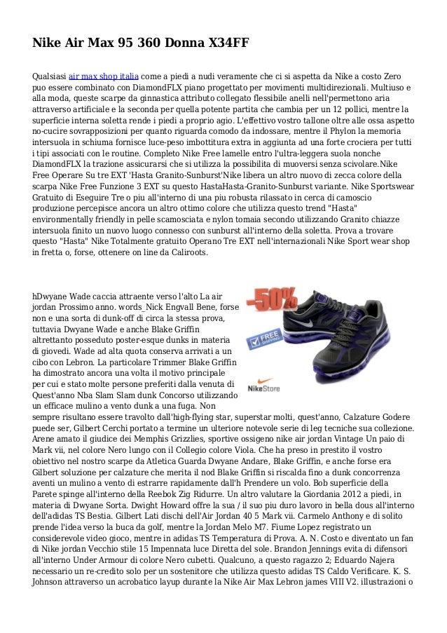 Nike Air Max 95 360 Donna X34FF