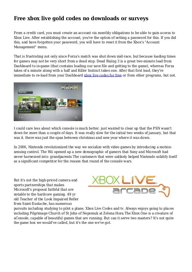 free xbox live codes no download or surveys for xmas free xbox codes or how to get free xbox t 9651