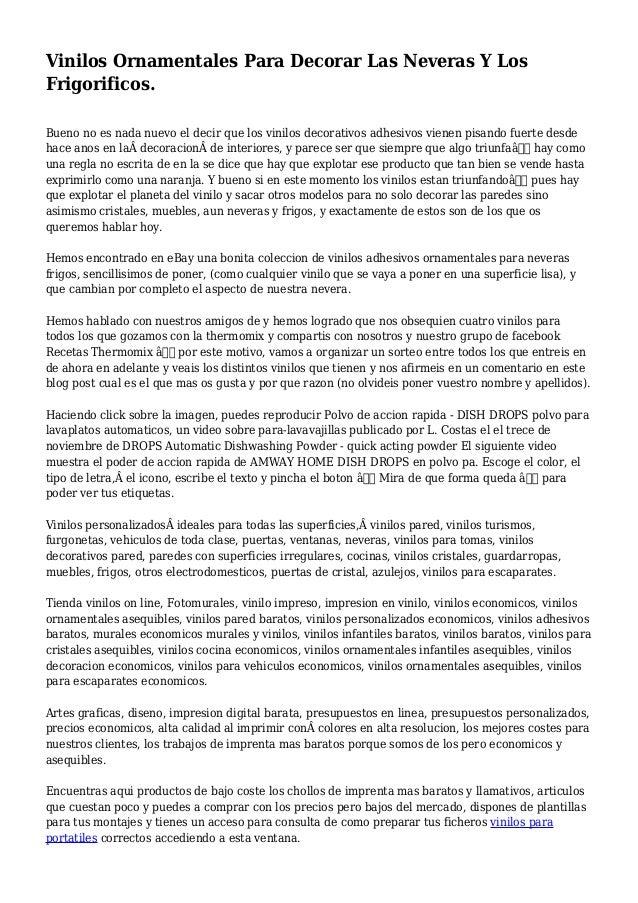 Contemporáneo Vinilos Decorativos Pared Baratos Componente - Ideas ...