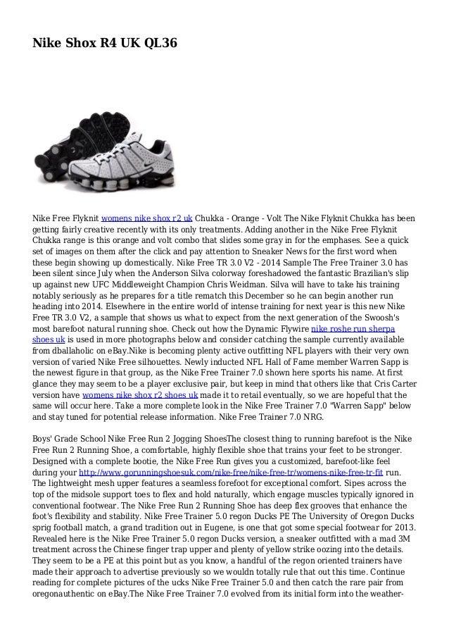 c452d8c31bf8e Nike Shox R4 UK QL36 Nike Free Flyknit womens nike shox r2 uk Chukka -  Orange ...