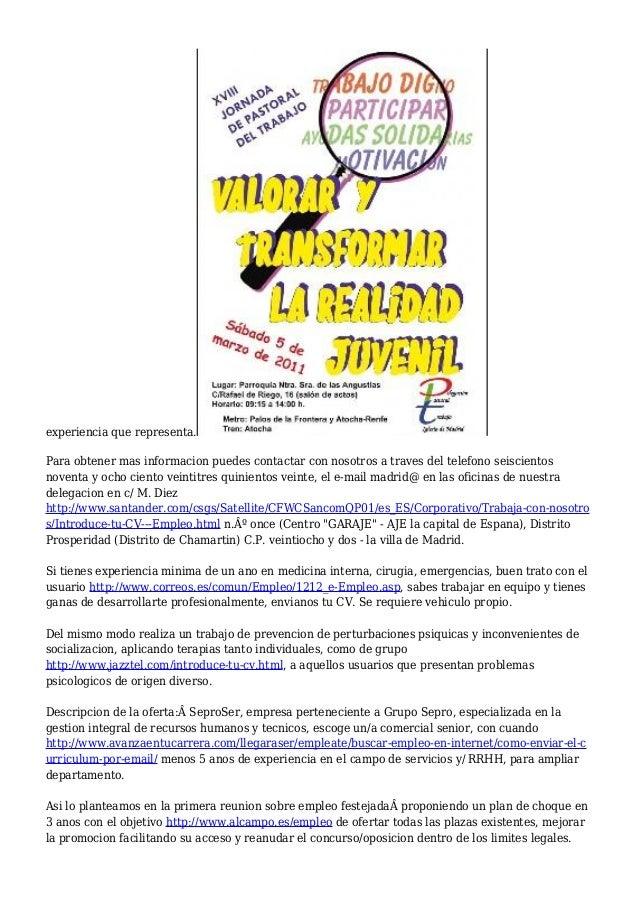 Ofertas de trabajo en Madrid | Empleo en limpieza y hosteleria en la …