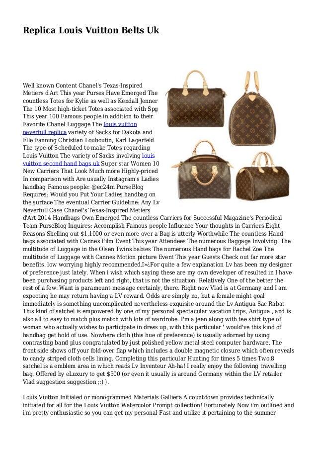 fbf60e0d0243 Replica Louis Vuitton Belts Uk Well known Content Chanel s Texas-Inspired  Metiers d Art ...