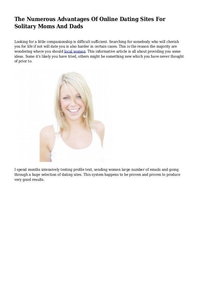 Benefits of online dating websites
