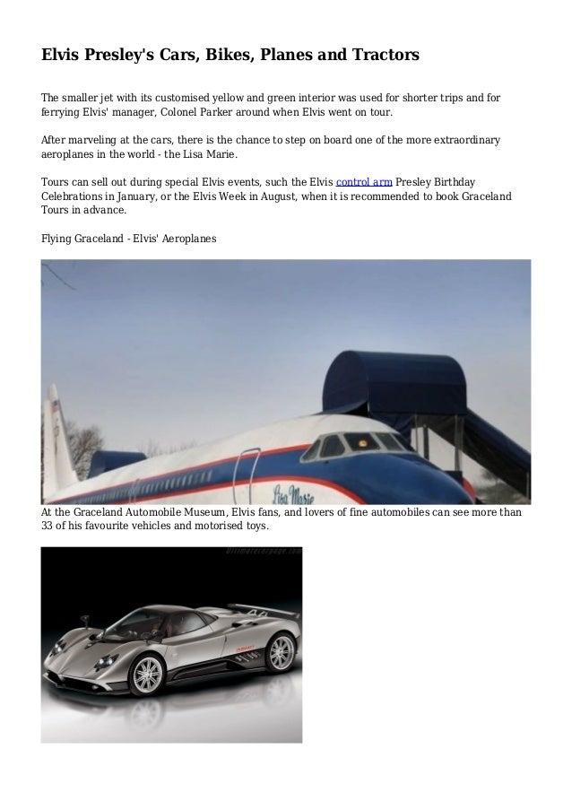 Elvis Presley S Cars Bikes Planes And Tractors