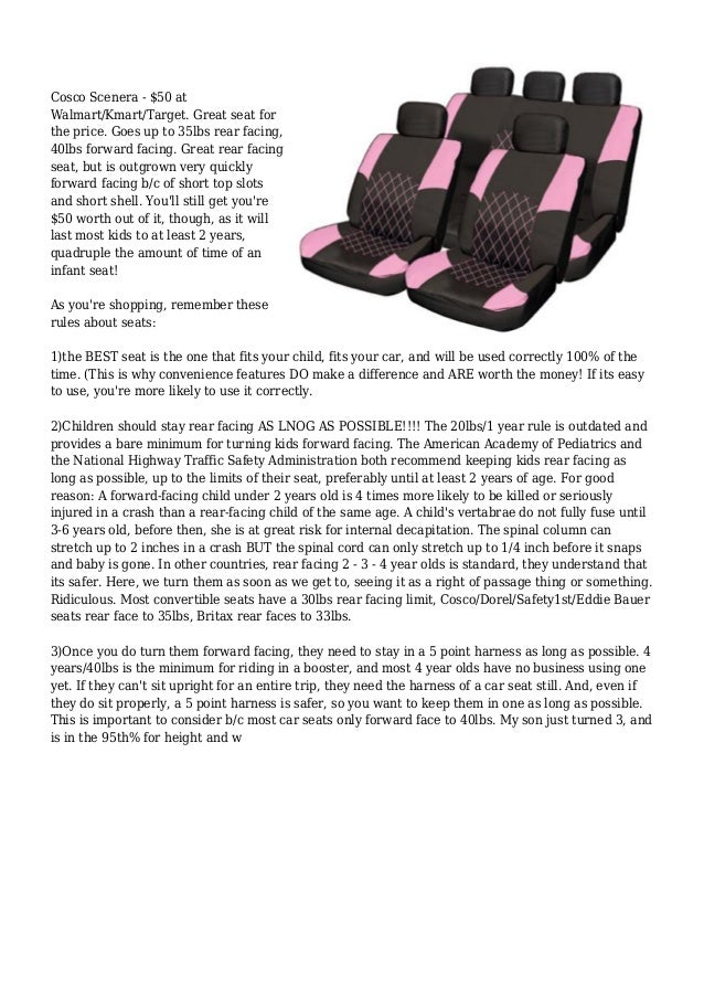What is the best infant car seat for a 2 door car? Slide 3