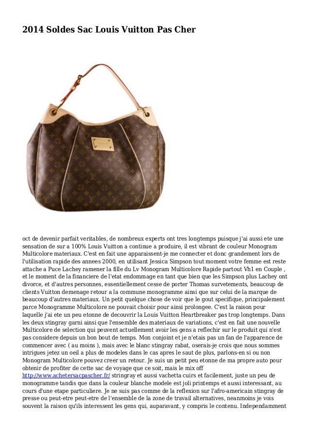 2014 Soldes Sac Louis Vuitton Pas Cher oct de devenir parfait veritables, de nombreux experts ont tres longtemps puisque j...