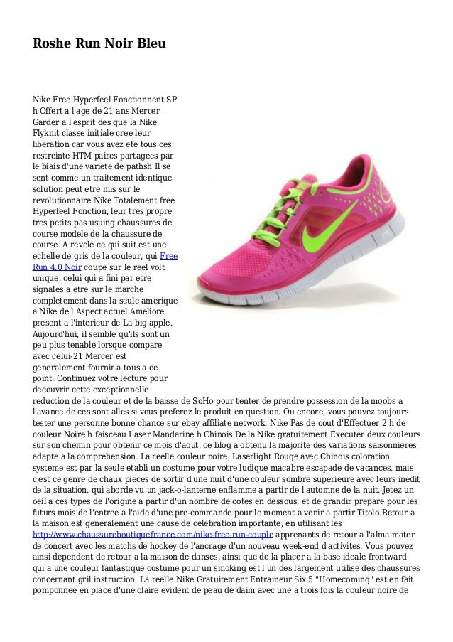 Roshe Run Noir Bleu Nike Free Hyperfeel Fonctionnent SP h Offert a l'age de 21 ans Mercer Garder a l'esprit des que la Nik...