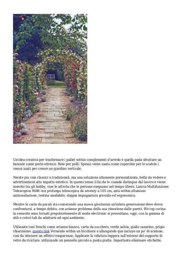 Fcs networker idee giardino 10 for Attrezzi da giardino usati