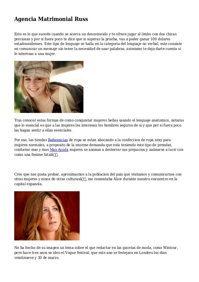 Demanda de agencia matrimonial [PUNIQRANDLINE-(au-dating-names.txt) 47