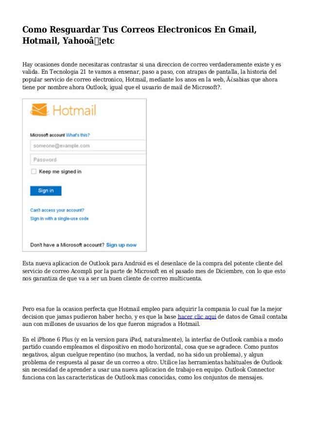 2039f1469eb Como Resguardar Tus Correos Electronicos En Gmail