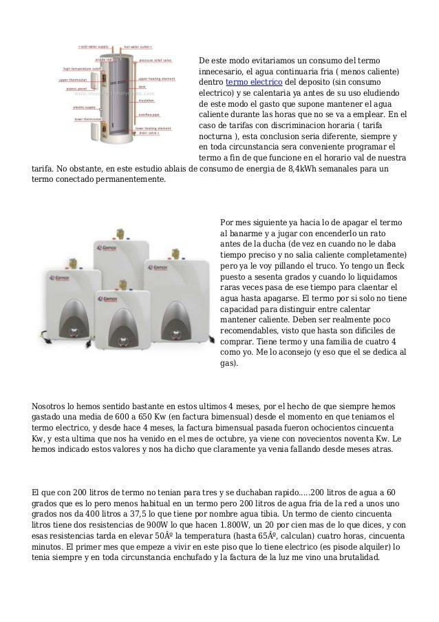 Como cambiar un termo electrico trendy termostato termo - Como instalar termo electrico ...