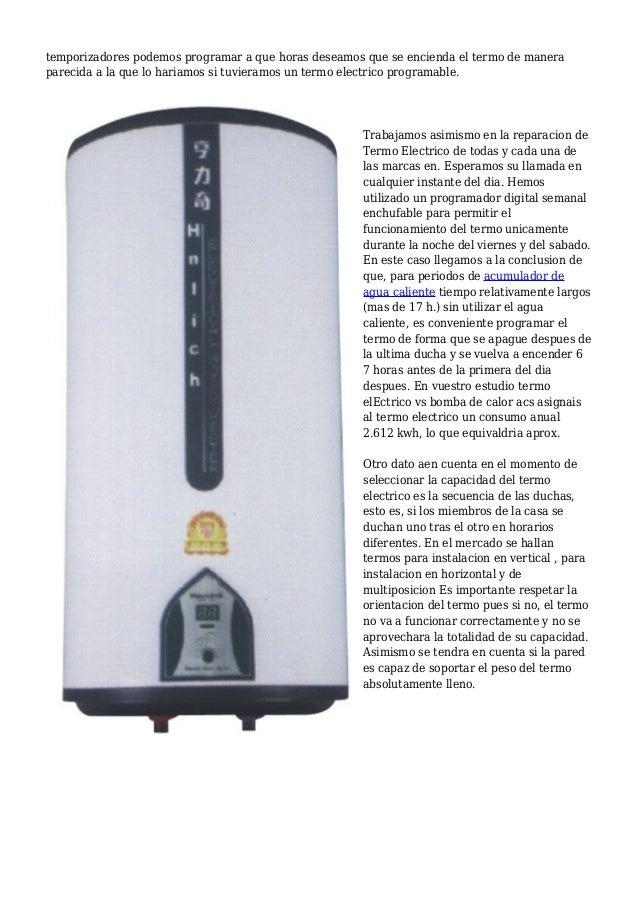 Termo electrico instantaneo junkers ed for Averia termo electrico