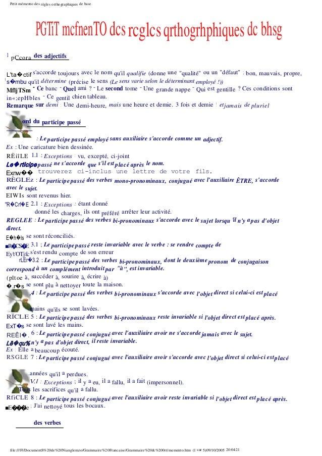 142932614 grammaire-et-orthographe