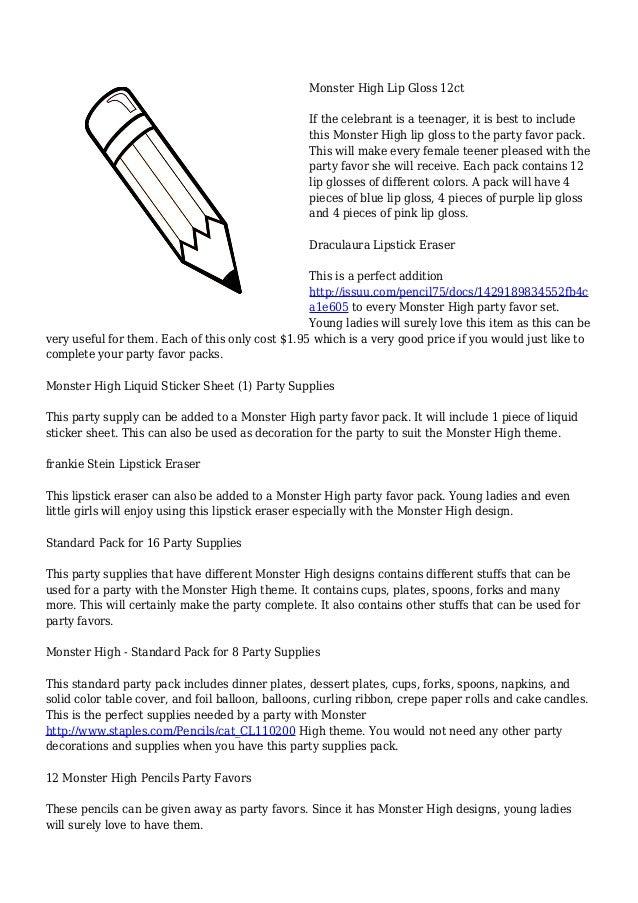 Monster High Party Favors - InfoBarrel  sc 1 st  xnuvo.com & Marvellous Monster High Dinner Set Photos - Best Image Engine ...