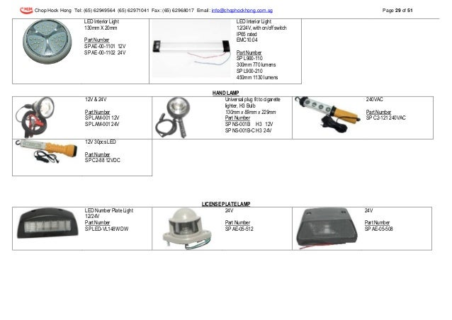 Do.LED J06/LED NUMBERPLATE