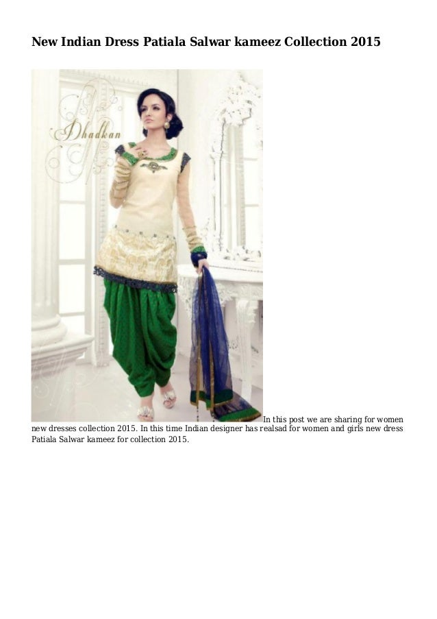 08ef982849 New Indian Dress Patiala Salwar kameez Collection 2015 In this post we are  sharing for women ...