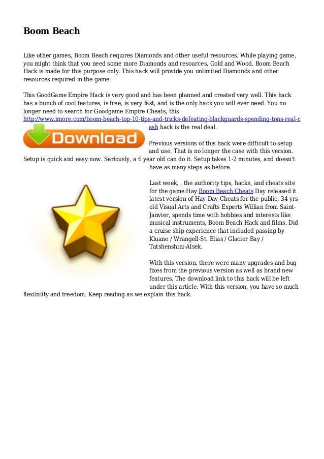 download boom beach hack latest version