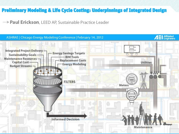 Slide 1Preliminary Modeling & Life Cycle Costing: Underpinnings of Integrated Design    Paul Erickson, LEED AP, Sustainabl...