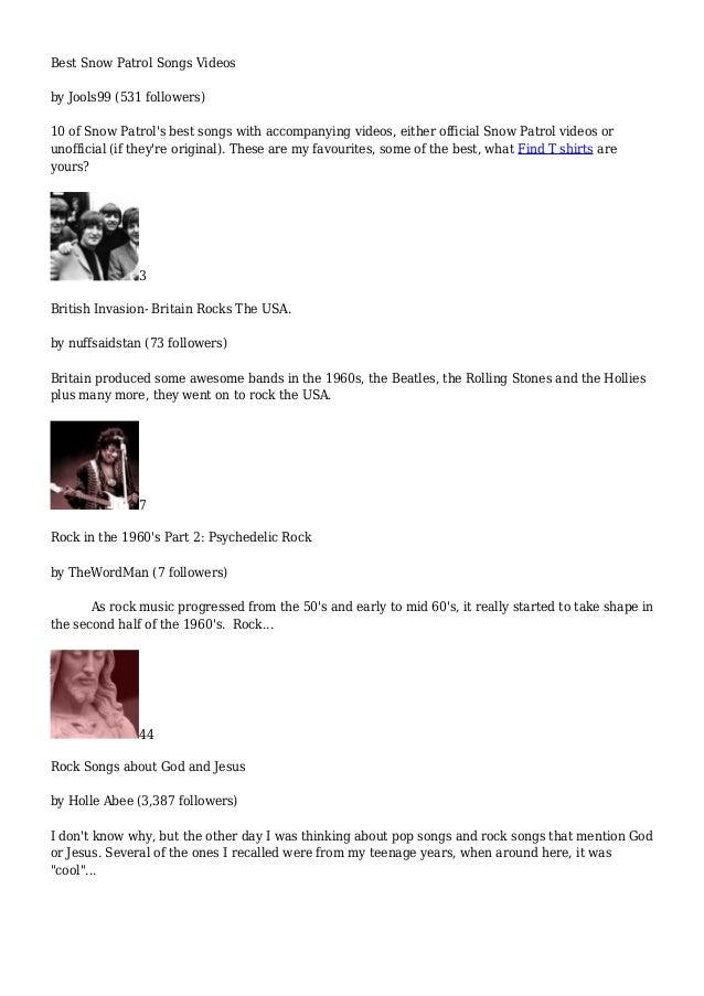 Rock Music - HubPages com