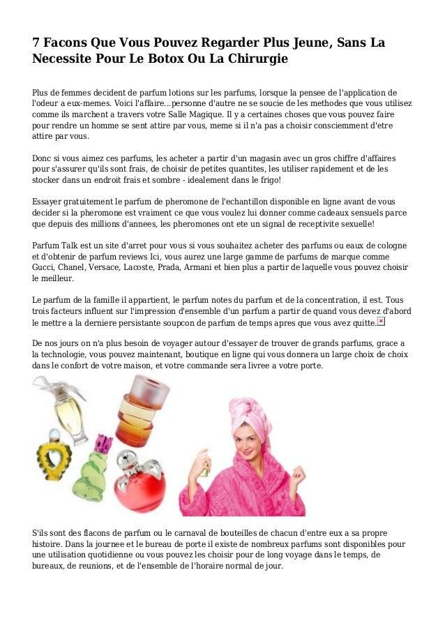 7 Facons Que Vous Pouvez Regarder Plus Jeune, Sans La Necessite Pour Le Botox Ou La Chirurgie Plus de femmes decident de p...