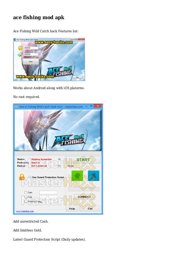 ace fishing hack apk download
